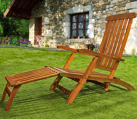 sdraio +prendi sole +giardino +outdoor +garden +arredo +legno +acacia +sandro +shopping +online +shop +sedia