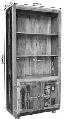 #mobile #legno #riciclato #vetrinetta #vintage #sandro shop