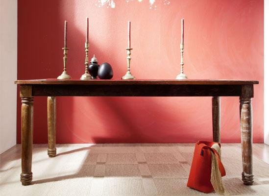 tavolo #legno #riciclato #vintage #etnico #chic #coloniale