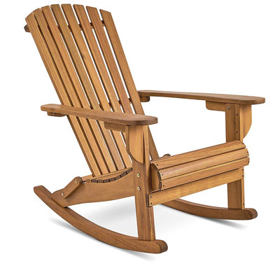 adirondack #muskoka #dondolo #sedia #canadese #americana #acacia #giardino #arredo #esterno