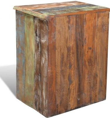comodino +legno riciclato +indonesia +india +indocina +etnico +vintage