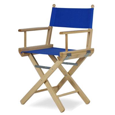 sedia regista #legno #blue