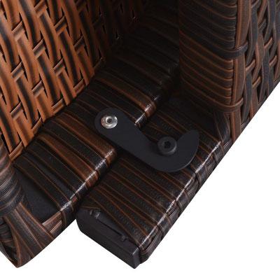 lettino +prendi +sole +polirattan +polyrattan +arredo +esterno +rattan +sandro +shop +shopping +online +vendita