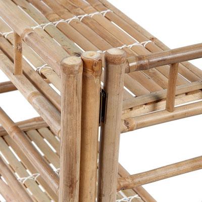 bambù +scaffale +arredo +esterno +sandro +shop +vendita +bamboo