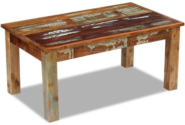 tavolino +legno +riciclato +caffè +recupero +antico +anticato +sandroshop +vendita +online +basso