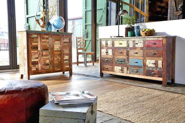 armadi in legno riciclato