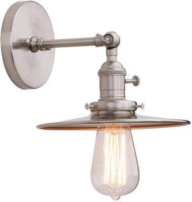 plafoniera #lampada #applique #muro #acciaio #vintage #industriale