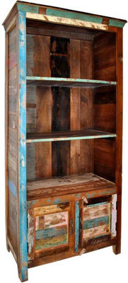 libreria unica legno riciclato