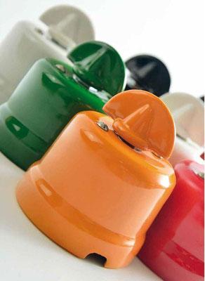 pulsanti #interruttori #rotativi #deviatore #colorato #ceramica