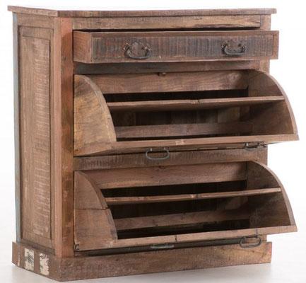 scarpiera +antica +legno +riciclato +vintage