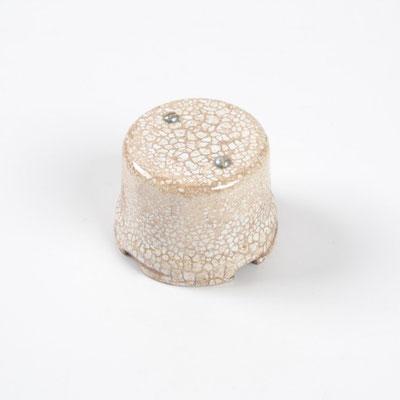 #boîte de jonction en céramique #Keramik-Anschlussdose #ceramic junction box #scatola #derivazione #impianto #elettrico #vintage