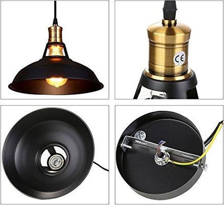 lampada sospensione +vintage +industriale +sandroshop +vendita +online +shopping