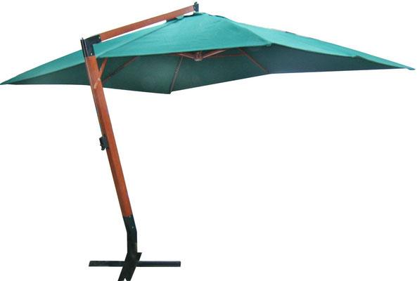 ombrellone +braccio +laterale +decentrato +legno +4x3