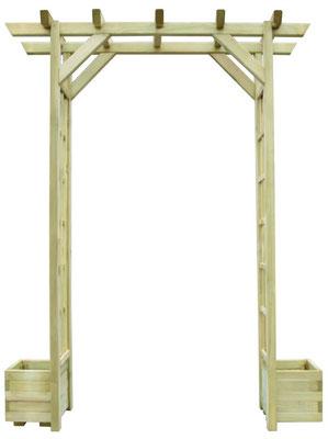 traliccio #pergola #arco #grigliato #legno #impregnato #giardino #autoclave #sandro shop