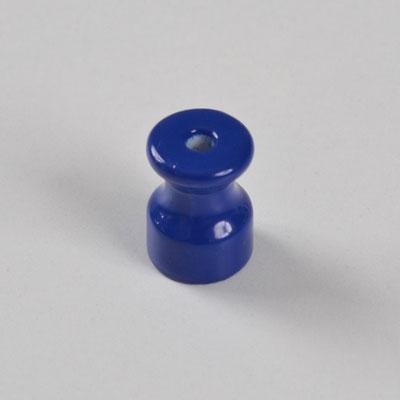 isolatore #ceramica #porcellana #colorata #impianto # a vista #vintage #blu #isolant en céramique #Keramikisolator #ceramic insulator