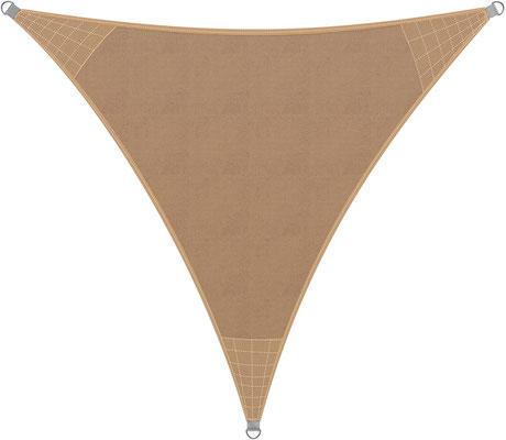 vela #tenda #solare #qualità #superiore #UV50 #ombreggiante #protezione #triangolare #sabbia