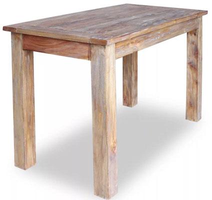 tavolo #legno #massello #rustico #vintage #120