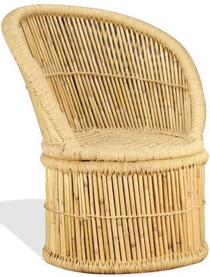 poltrona +bambù +bamboo + poltroncina