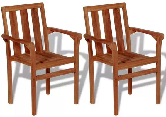 sedia #impilabile #teak #esterno #giardino #impilabile #bracciolo #arredo