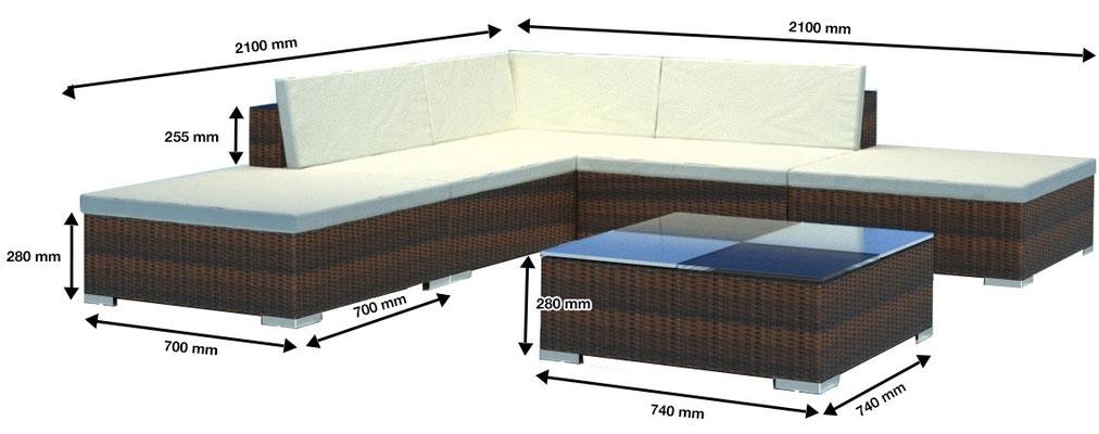 divano +rattan +arredo giardino