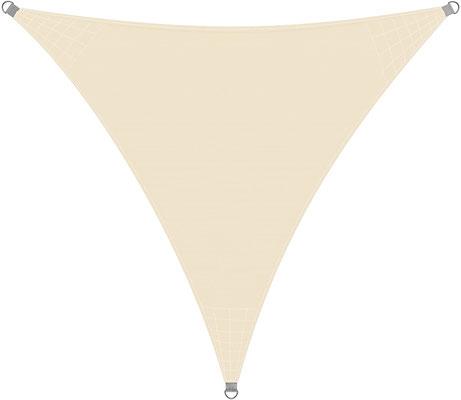 vela #tenda #solare #qualità #superiore #UV50 #ombreggiante #protezione #triangolare #crema