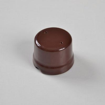 scatola derivazione #porcellana #marrone #colorata #FAI #boîte de jonction en céramique #Keramik-Anschlussdose #ceramic junction box