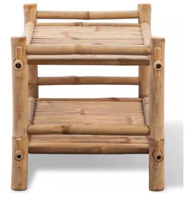 tavolino #bambù #bamboo #basso #caffè #salotto #giardino #arredo #esterno