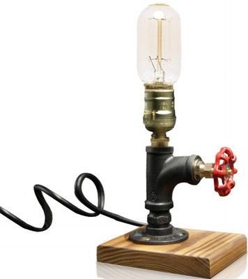 lampada +tubi +raccordi +idraulici +vintage +Steampunk +industriale +loft +urbano +fai da te +abat jour