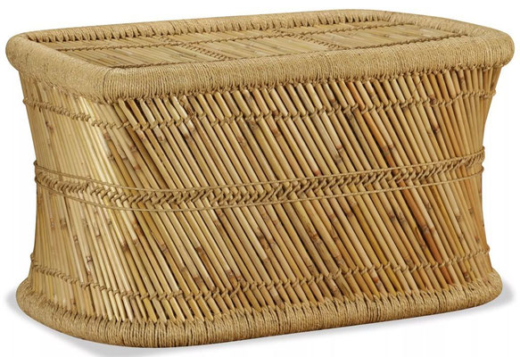 tavolino +caffè +bambù