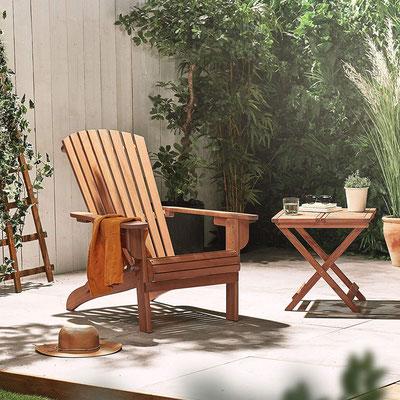 adirondack #muskoka #pieghevole #sedia #canadese #americana #acacia #giardino #arredo #esterno