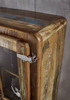vetrina #mobile #legno #riciclato #vetrinetta