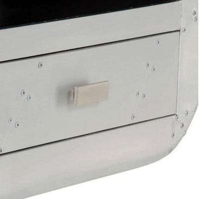 porta tV #aviator #sandro #shop #alluminio #industrial