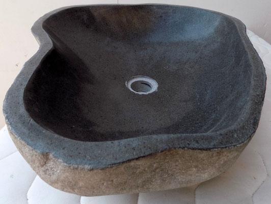 lavandino #appoggio +pietra +fiume +lavello +sandroshop +vendita +online +naturale +designe +artigianale +lavabo