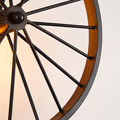 lampada + idraulici +applique +vintage +retrò +industriale +parete +ruota +sandroshop +vendita +online
