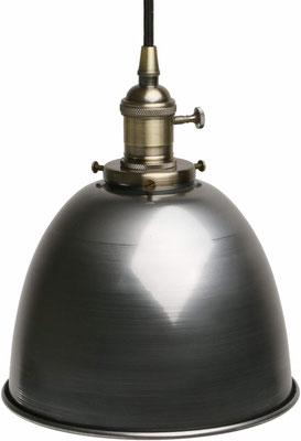 lampada sospensione +vintage +industriale +sandroshop +vendita +online +shopping #acciaio #satinato