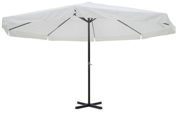 ombrellone +alluminio +5 x 5 metri