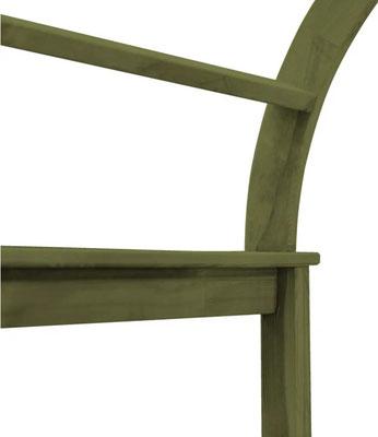 pergolato #arco #legno #impregnato #autoclave #trattato