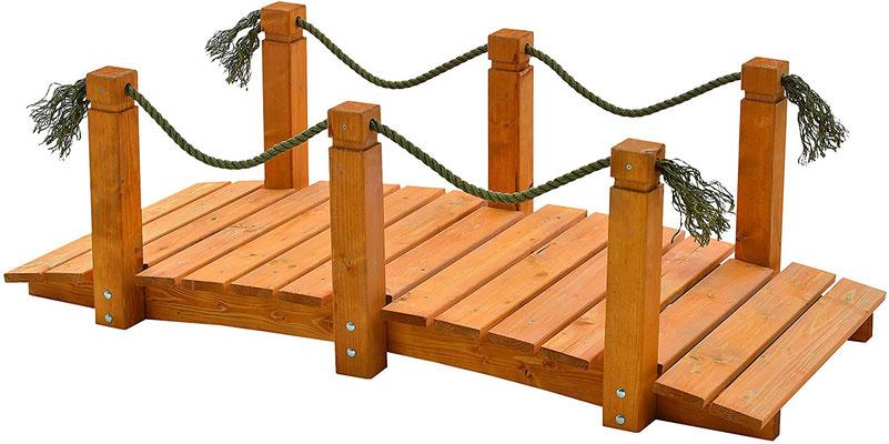 ponte #decorativo #legno #giardino #sandroshop.com