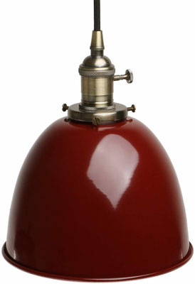 lampada sospensione +vintage +industriale +sandroshop +vendita +online +shopping #amaranto