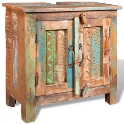 legno recupero mobile basso bagno