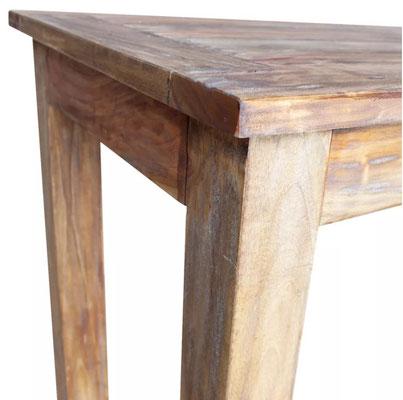 tavolo #legno #massello #rustico #vintage #120 cm #solido