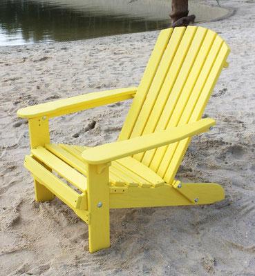 muskoka +adirondack +sedia sdraio +sandro shop +arredo + giardino +legno +acacia +outdoor +gialla