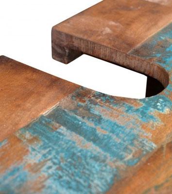mobili in stile etnico legno riciclato