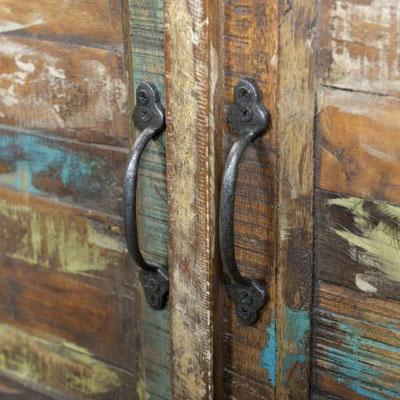 mobili legno riciclato vintage industrial designe