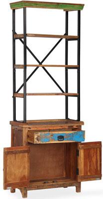credenza #legno #riciclato #recupero #massello #artigianale #vintage