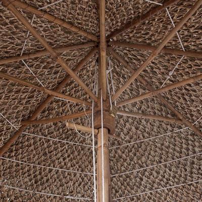 ombrellone bambù