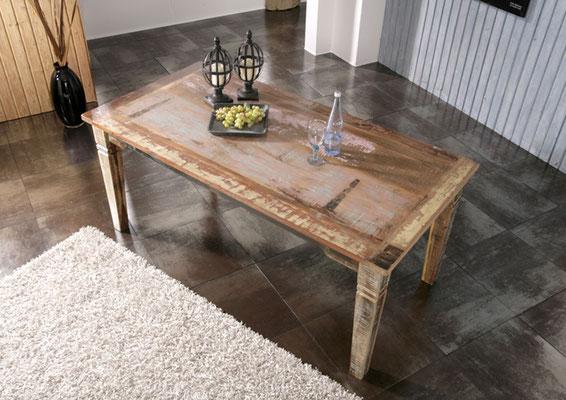 tavolo +pranzo +legno +recupero +etnico +vintage +anticato +sandro shop +vendita +online