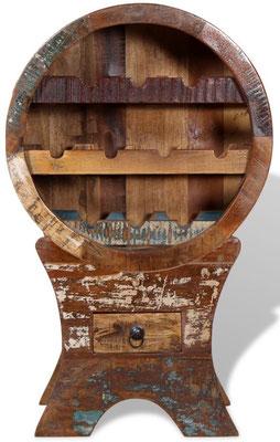 cantina +cantinetta +porta bottiglie +vino +legno +massello +riciclato +mobile #vintage