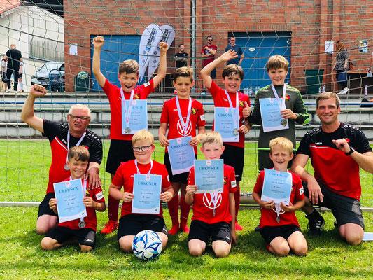 Starker 2.Platz unserer EII-Junioren bei der Pokalendrunde!