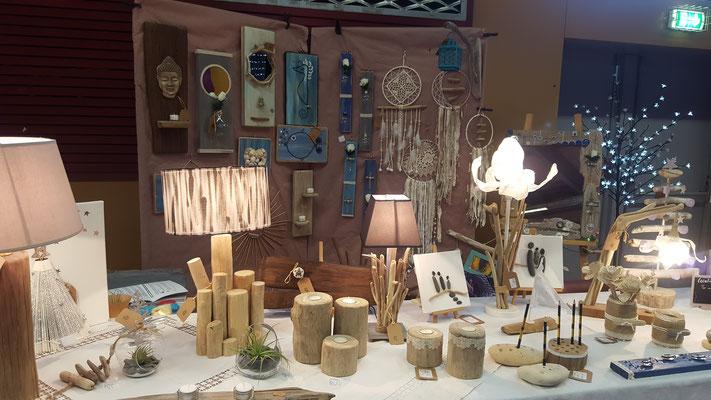 créations bois flottés. atelier deco lacanau